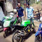 Operasi Pekat Hari Pertama, 4 Sepeda Motor Diamankan Polres Minut