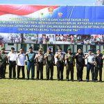 Pangdam Merdeka Resmikan Operasi Gaktib dan Yustisi 2018