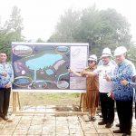 Bupati Panambunan Lakukan 'Groundbreaking', Pembangunan Embung Wanua Ure Dimulai