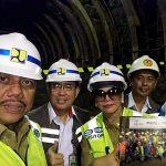"""Dampingi Gubernur Olly, Bupati VAP Saksikan """"Breakthrough"""" Pembangunan Waduk Kuwil"""