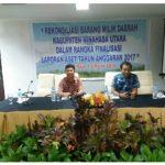 Badan Keuangan Minut Gelar Rekonsiliasi Barang Milik Daerah
