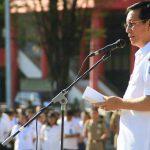 Walikota Vicky Lumentut Pimpin Apel Perdana Awal Tahun 2018