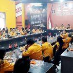 Rapat Pleno Diperluas DPD Partai Hanura Sulut. Jacko: Kader dan Anggota DPRD Kena Sanski, Diberi Kesempatan Kembali