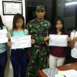 Pakai Lem Ehabon, 4 Gadis Diciduk Patroli Gabungan di Kecamatan Singkil