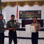 BNN-KPU-Bawaslu Support Apel Danramil Jajaran Korem 131/Santiago