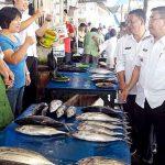 Penjabat Bupati Minahasa Royke Mewoh Sidak Pasar Tondano