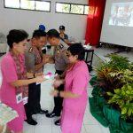Pisah Sambut, Andyana Promosi Ke Mabes Polri Napitu Jabat Kapolres Sangihe