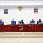 Dihadiri Mewoh, Korengkeng Pimpin Rapat Dinas Jajaran Pemkab Minahasa