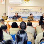 Pemkab Minut Gandeng Bank SulutGo Sosialisasikan Implementasi transaksi non tunai
