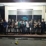 K2YD Polres Minut Amankan 34 orang Mabuk