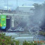 DLH Manado Percantik Taman Tugu Lilin Dengan Air Mancur