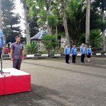 Royke Mewoh Pimpin Apel Perdana Lingkup Pemkab Minahasa