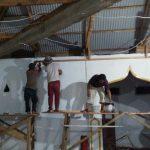 Satgas TMMD dan Masyarakat Desa Pakuku Jaya Inisiatif Kerja Lembur