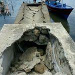 Terancam Ambruk, Pemkab Diminta Bangun Tambatan Perahu Kampung Mawira
