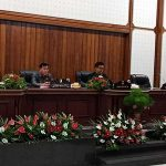Rapat Paripurna DPRD Minahasa, Mewoh Sampaikan LKPJ TA 2017