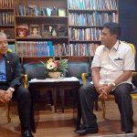 Temui Wakil Ketua DPR RI Gaghana Bahas Pengembangan Industri Perikanan