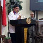 Sampaikan LKPJ 2017, Walikota Vicky Lumentut Hadiri Rapat Paripurna DPRD Manado