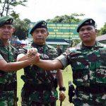 Mayor Inf Raja Gunung Nasution Pimpin Yonif Raider 712/Wiratama, Mayor Czi Bhakti Yuhandika Jabat Dandenzipur-4/YKN