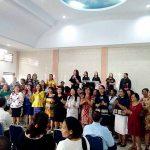 Bupati Panambunan Ibadah Paskah  di GPDI Tumaluntung