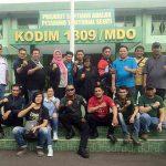 Coffee Morning, Dandim 1309/Manado Perkuat Komunikasi Dengan Jurnalis