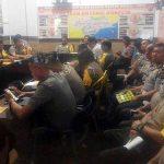 Rapat Satgas Nusantara. Kapolres Minsel: Sebagai Bahan Evaluasi Kinerja