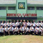 Korem 131/Santiago Bekali Pilar Kebangsaan Bagi Peserta Diklat PIM IV Pemkot Tomohon