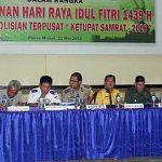 Polres Minsel gelar Rakor Ops Ketupat Dengan Instansi Terkait¸ Bahas Pengamanan Idhul Fitri