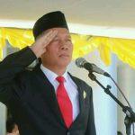 Wabup Wongkar Pimpin Upacara Peringatan Hardiknas
