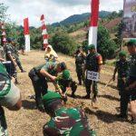 Kodam XIII/Merdeka-Pemprov Gorontalo Canangkan Program Padat Karya