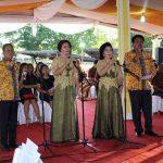 Yopie Latul Meriahkan Syukuran 1 Tahun Kepemimpinan Gahagho