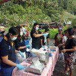 SKIPM & BPOM Sangihe Periksa Kwalitas  Ikan dan Bahan Makanan Berformalin