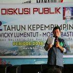 Dialog Publik 2 Tahun Kepemimpinan GSVL-Mor, Gelar Diskusi Terbuka Dengan Jurnalis