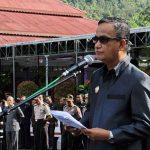 Irup Hardiknas, Hontong Baca Sambutan Menteri Pendidikan dan Kebudayaan