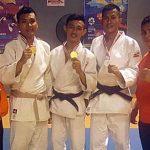 Kodam XIII/Merdeka Rebut 1 Emas 2 Perak di Kejurnas Judo Kartika Cup XI Palembang