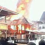 Rumah Milik Sampel Warga Suluun Hangus Di Lalap Si Jago Merah
