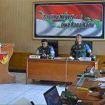 Korem 131/Santiago Koordinir Langsung Latihan Posko Satu di Gorontalo