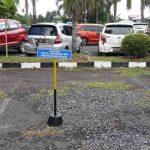 Pejabat RSUP Kandou Difasilitasi Lokasi Parkir Kendaraan
