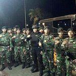 Polres Minsel-TNI AD Kompi C/712 Raider Amurang Gelar Razia Gabungan