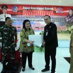 Bupati Toni Supit Buka Rakorda Program KKBPK 2018 di Sitaro