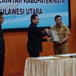 Hasil LKPD TA 2017, Kabupaten Minahasa Raih Opini WTP