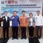 Ketua DPW PPNI Sulut Buka Seminar Satgas Kegawatdaruratan dan Penanggulangan Bencana
