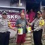 Sambut HUT Bhayangkara, Polres Minsel Gelar 'Bedah Rumah'