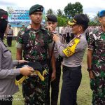 Prajurit Kodim 1312/Talaud Topang Ops Ketupat Samrat 7-24 Juni