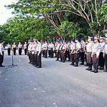 Pasukan BKO OMP Polda Sulut Tiba Di Ratahan, Terlibat Dalam Pengamanan Pilkada Mitra