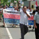 Forum Pedagang Bersatu Gelar Aksi Demo