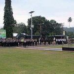 Kapolres Minsel Pimpin Apel Kesiapan Pengamanan Idul Fitri