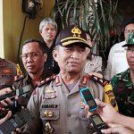 Kapolda Sulut Pantau Keamanan Beberapa TPS Di Mitra