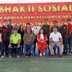 Korem 131/Santiago Bantu BKKBN Sulut Siapkan Perhelatan Harganas ke-25