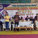 Wakili Bupati Minsel, Wabup Wongkar Hadiri Pembukaan Perkemahan PKPG 2018