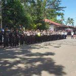 Kapolres Minsel Pimpin Apel Pengecekan Kekuatan OMP-2018 Pam Pilkada Mitra